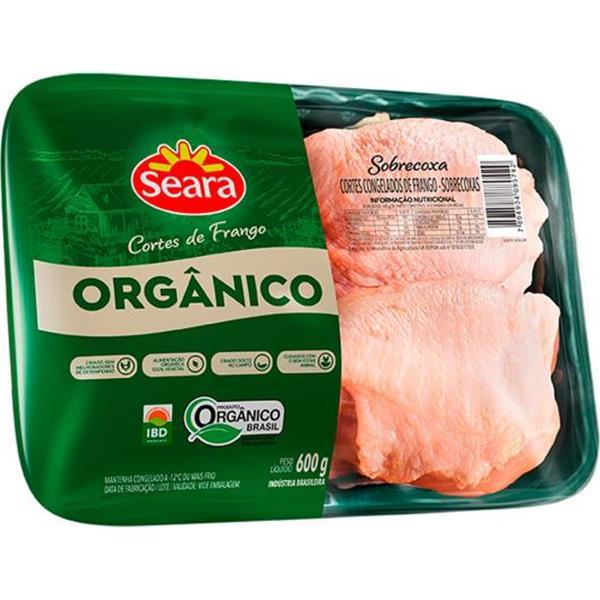 coxas de frango orgânico 600 g Seara-226424834