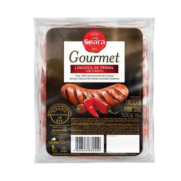Linguiça de pernil apim gourmet 450 g Seara-1150056456