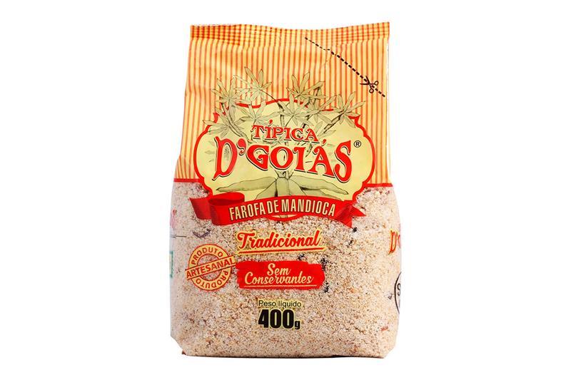 Farofa D'Goias Tradicional 400 g-411200026