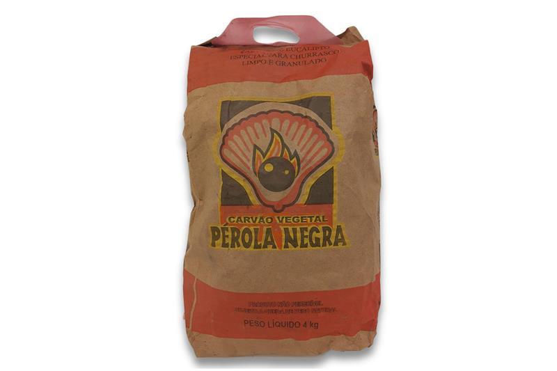 Carvão Perola Negra 4 kg-1937993215